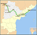Nanded-Visakhapatnam Express Route map.jpg