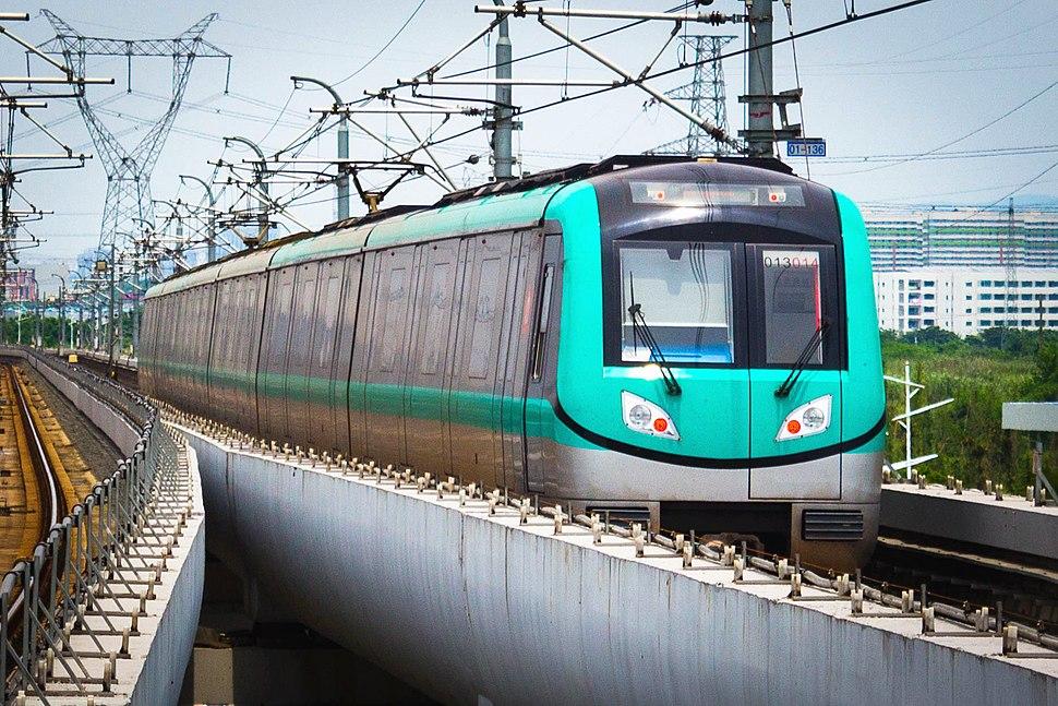 Nanjing Metro Line S1 Train