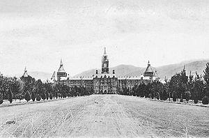 Napa State Hospital - Image: Napa State Hospital c. 1900