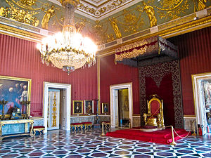 Royal Palace of Naples - The throne room