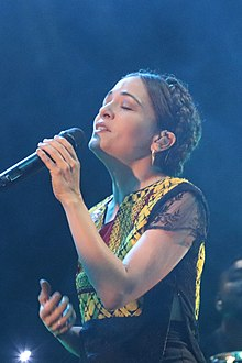 Lafourcade in 2018.
