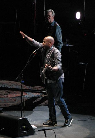 "Nathan East - Nathan East performed ""Can't Find My Way Home"" with Eric Clapton at Madison Square Garden on May 3, 2015"