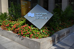 National Bank of Canada - National Bank of Canada Office in Toronto.