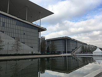 National Library of Greece - New Building of National Library of Greece in Stavros Niarchos Foundation Cultural Center