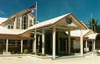 Parliament of Nauru - Image: Nauru parliament
