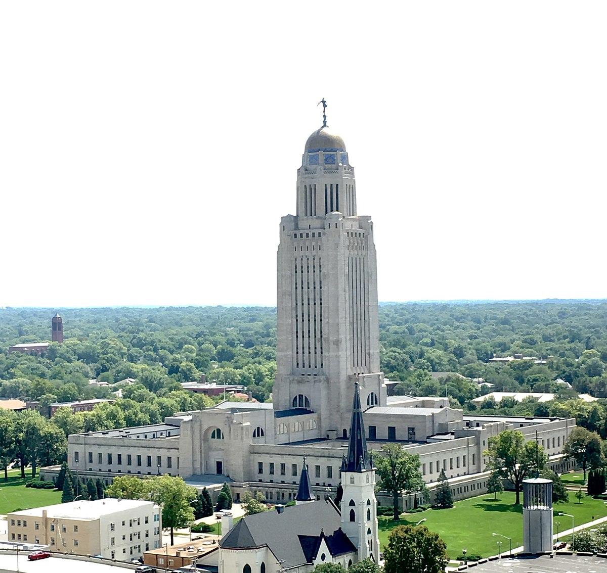 Louisiana Dome House: Nebraska State Capitol