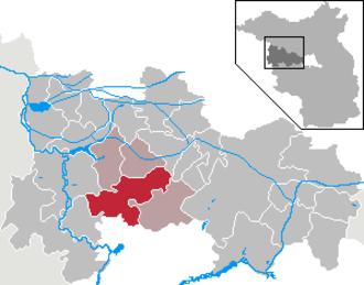 Nennhausen - Image: Nennhausen in HVL