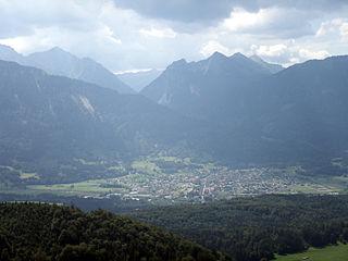 Nenzing Place in Vorarlberg, Austria