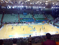 Netball at CWG 2010, India vs Jamaica.jpg