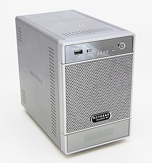 Network-attached storage - A Netgear NAS