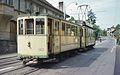 Neuchâtel tram route 3 in 1976, cars 143+76.jpg