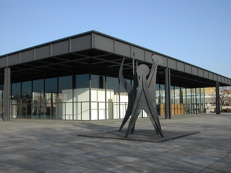 Nuova galleria nazionale di berlino, 1962-68 - mies van der rohe