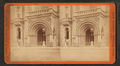 New Masonic Temple, Philadelphia. Main entrance, from Robert N. Dennis collection of stereoscopic views.png