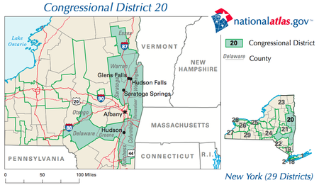 The district from 2003 to 2013 New York District 20 109th US Congress.png