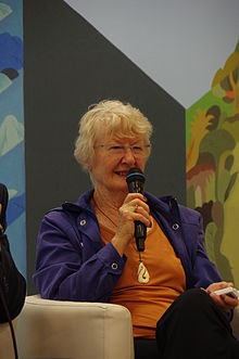 New Zealand historian and novelist Joan Druett in 2015 TIBE.JPG