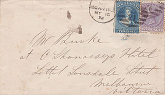 Postage stamps and postal history of New Zealand - The Chalon design and the 1874 sideface replacement