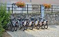 Nextbike, Hauptplatz, Hainburg.jpg