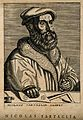 Niccolo Tartaglia. Line engraving, 1682, after P. Galle. Wellcome V0005732.jpg