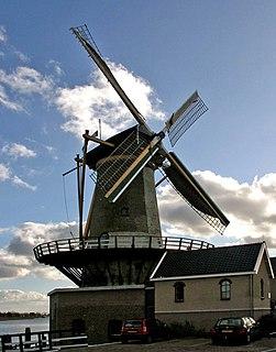 Zuidplas Municipality in South Holland, Netherlands