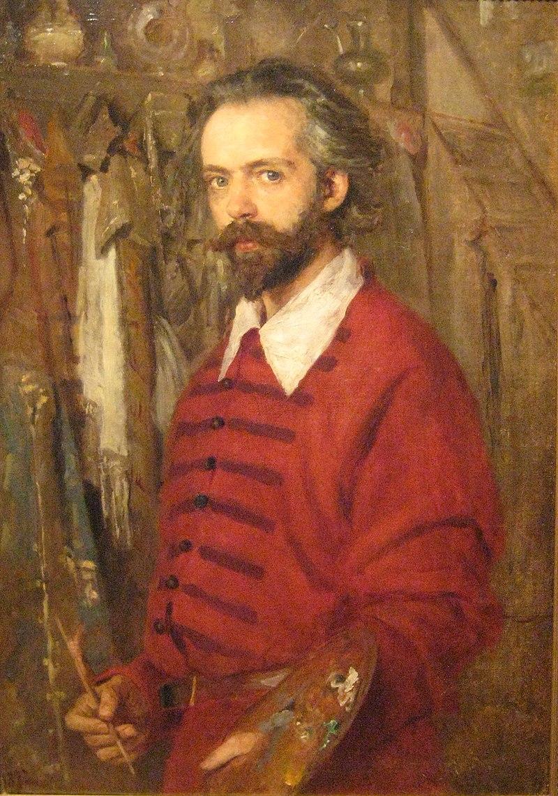 В. К. Штембер. Портрет Н. С. Матвеева, 1892. Курская картинная галерея.