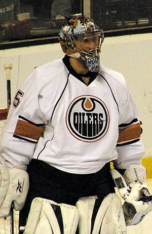 Nikolai Khabibulin - Khabibulin with the Oilers in 2009