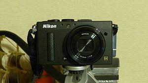 Nikon Coolpix series - Image: Nikon Coolpix A Front View 20140728