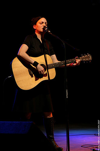 Nina Nastasia - Nastasia performing in Italy, 2007