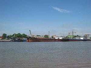 River Đáy - Day River through Ninh Phúc Port