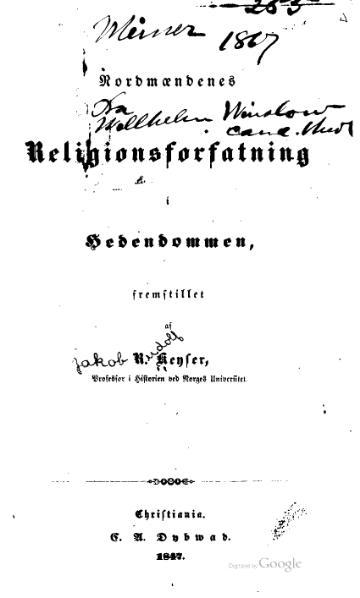 File:Nordmændenes religionsforfatning i hedendommen.djvu