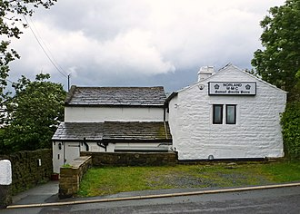 Norland, West Yorkshire - Image: Norland Working Mens' Club (Taken by Flickr user 23rd June 2012)