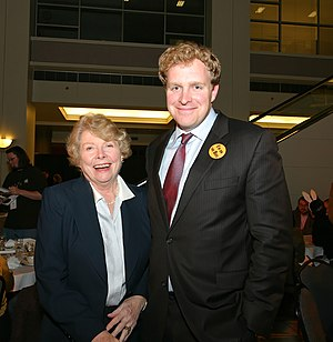 Norma Paulus - Paulus and Jefferson Smith in 2008