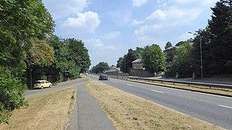 North Cray - Image: North Cray Road
