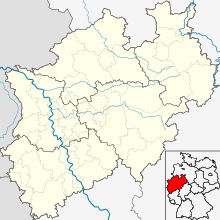 DUS is located in North Rhine-Westphalia