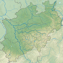 Beckum Hills is located in North Rhine-Westphalia