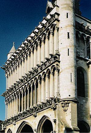 Church of Notre-Dame of Dijon - Gargoyles on the western façade