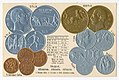 Numismatic postcard from the early 1900's - Albania.jpg