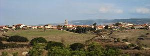 Nuragus - Panorama of Nuragus
