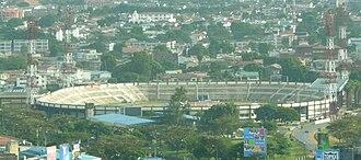 Football in Kenya - The Nyayo National Stadium in 2009