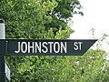 OIC street sign adelaide hills johnston.jpg