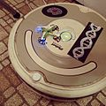 OMG roomba found a lover - drone on drone - robot romance (by j bizzie) 2015-02-14.jpg
