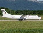 OY-LHC ATR-72-212 AT73 - DTR (ist für Blue Islands BCI im Einsatz) (18673614975).jpg