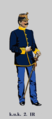 Oberleutnant der k.u.k. Ungarischen Infanterie (2. IR) in Paradeadjustierung.png