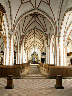 Saint Hans Church - Interior of the church