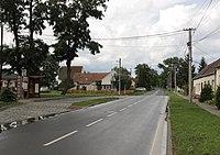 Odrovice - hlavní silnice obr3.jpg