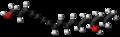 Oenanthotoxin molecule ball.png