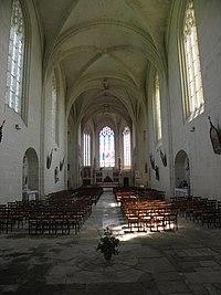Oiron (79) Collégiale Saint-Maurice - Intérieur 02.jpg
