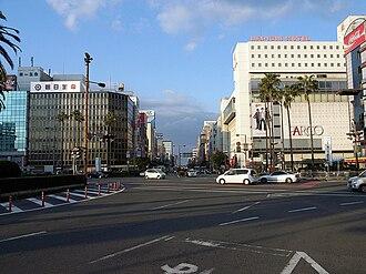 Ōita (city) - Main street of Ōita