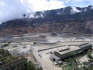 Ok Tedi Mine Papua New Guinean copper and gold mine