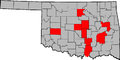 Oklahoma Governors by county.png