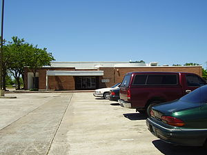 Almeda, Houston - Former location of the Vinson Neighborhood Library
